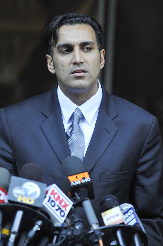 "Anna Nicole's personal physician Dr. Sandeep Kapoor was put on trial in 2010, along with Stern and Anna's therapist Dr. Khristine Eroshevich, to face charges of supplying her with the prescription drugs that eventually led to her death. Although he was acquitted of any wrong doing, that hasn't stopped him from publicly discussing his questionable relationship with his client. In August 2011, Dr. Kapoor appeared on Dr. Drew's HLN show and admitted he and Anna once made out during a ""party situation,"" to which Dr. Drew called him out for his unprofessionalism. ""Under my care, she was not a drug addict,"" Dr. Kapoor maintains. (10/28/2010)"