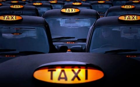 Previous research showed London black cab drivers had enlarged areas of the brain linked to mapping  - Credit: Getty Images