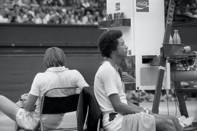 There was a degree of animosity between Arthur Ashe and Jimmy Connors (PA)