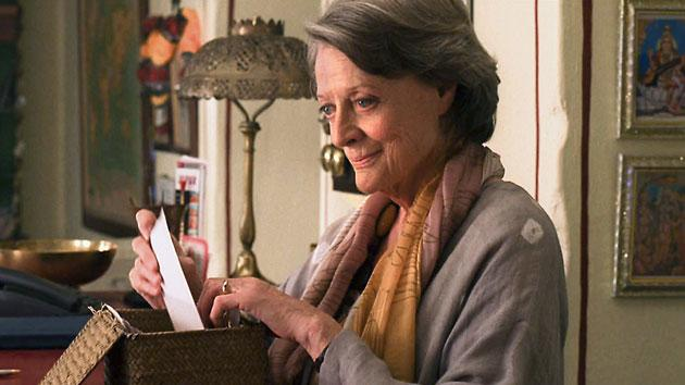 "Maggie Smith (""The Best Exotic Marigold Hotel""): MAYBE The beloved battle ax Ms. Smith goes from cranky old prejudiced coot to accomplished bookkeeper to an Indian charmer in this British comedy jam-packed with BBC-ready English performers. Needless to say, Smith – the dame of ""Downton Abbey"" – acts her way to the top of the movie's experienced heap."