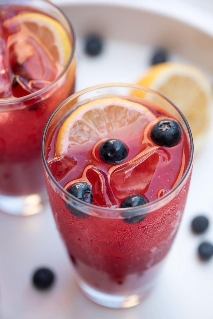 """<p>Take advantage of what the season has to offer — seriously sweet berries! — and mix 'em into homemade lemonade. Kids will feel extra fancy drinking it. </p><p><em><a href=""""https://www.fromvalerieskitchen.com/summer-berry-lemonade/"""" rel=""""nofollow noopener"""" target=""""_blank"""" data-ylk=""""slk:Get the recipe from Valerie's Kitchen »"""" class=""""link rapid-noclick-resp"""">Get the recipe from Valerie's Kitchen »</a></em></p><p><strong>RELATED: </strong><a href=""""https://www.goodhousekeeping.com/food-recipes/g2506/ways-to-make-flavored-lemonade/"""" rel=""""nofollow noopener"""" target=""""_blank"""" data-ylk=""""slk:16 Easy Ways to Make Flavored Lemonade"""" class=""""link rapid-noclick-resp"""">16 Easy Ways to Make Flavored Lemonade</a><br></p>"""
