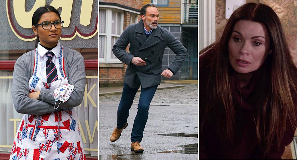 It's another dramatic week on the cobbles. (ITV)
