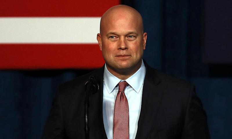 Acting attorney general Matthew Whitaker served on the advisory board for World Patent Marketing, which was shut down by federal regulators after fraud was discovered.