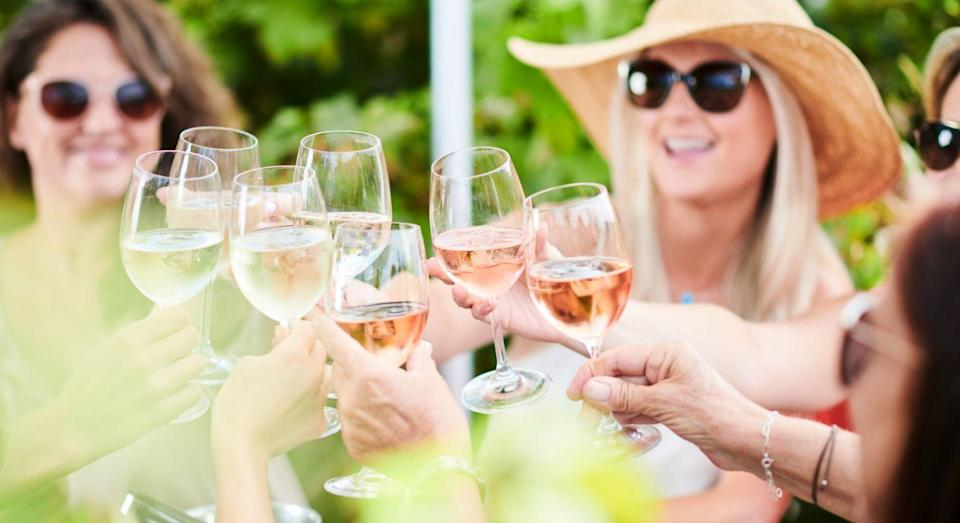 This Marks & Spencer rosé has been flying off the shelves this bank holiday weekend. [Photo: Getty]