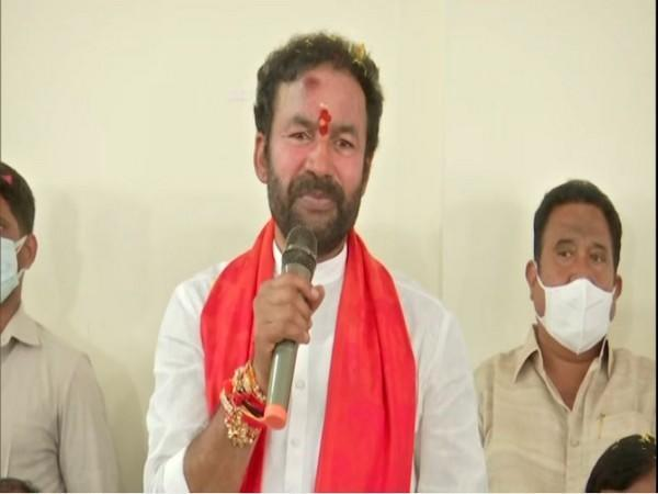 Union Minister of Tourism, Culture and Development of North Eastern Region, G.Kishan Reddy (Photo/ANI)