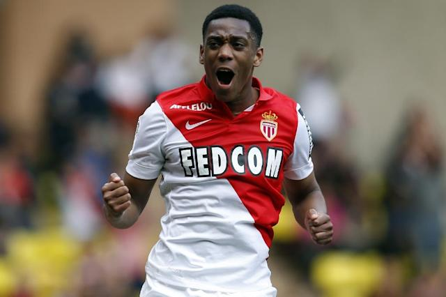 Anthony Martial, who has been signed by Manchester United from Monaco, is the most expensive teenager in football history (AFP Photo/Valery Hache)