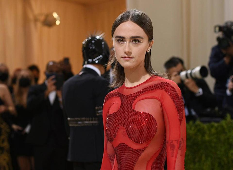 Ella Emhoff at the Met Gala 2021 in Stella McCartney for Adidas (Invision)