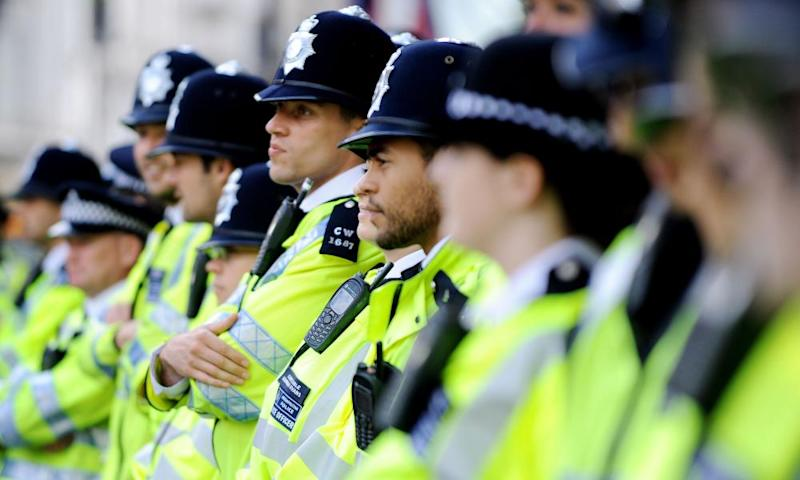 Frontline police officers