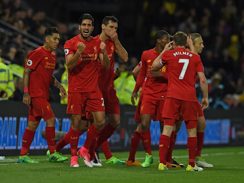 Emre Can celebrates his goal (Getty)
