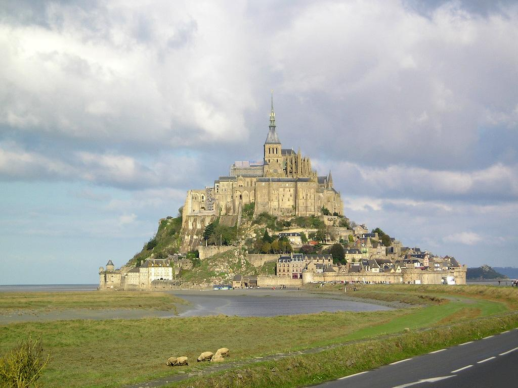 <div><span>Disney designer Laurent Ben-Mimoun took inspiration from this castle on an island, which has been the seat of the monastery since the 8th century AD. </span><i><span>[Photo: Wikimedia Commons]</span></i> </div>