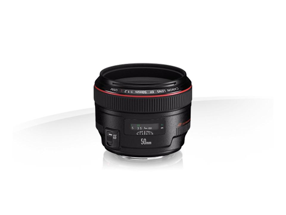 Canon EF 50mm 1.2 lens, which retails at £1449.99Canon