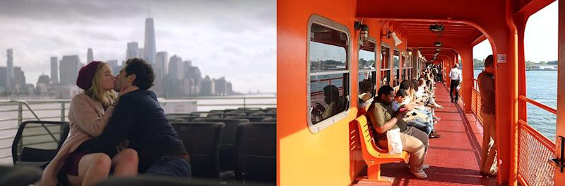 you staten island ferry side by side big