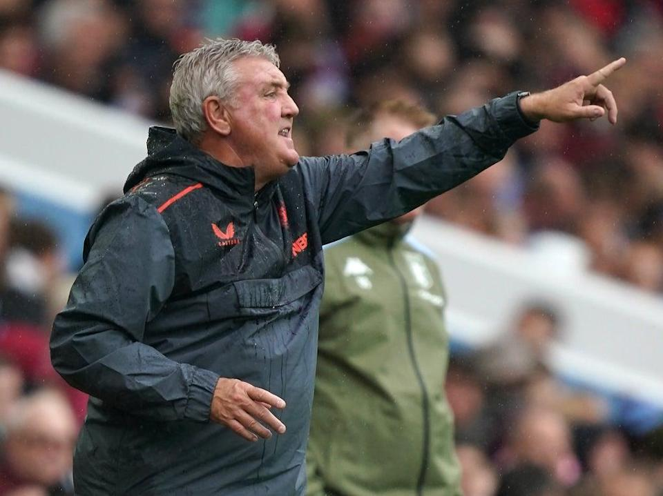 Newcastle head coach Steve Bruce is refusing to walk away from his task (David Davies/PA) (PA Wire)