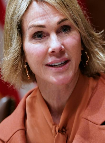 US Representative to the UN Kelly Craft has voiced shock at Russian and Chinese vetoes of aid efforts to Syria (AFP Photo/MANDEL NGAN)