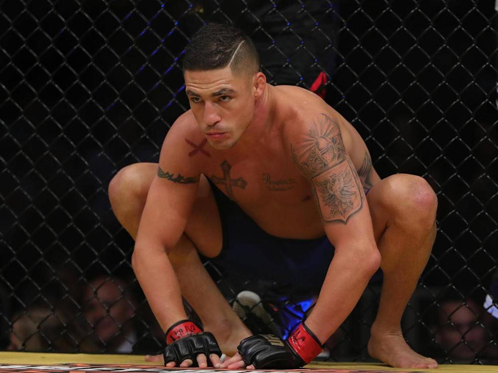 Diego Sanchez organised an MMA fight against fan Isaac Marquez (Getty)