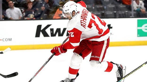 Wings Fall To Sharks In O.T. 4-3