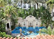 """<p>In case you missed it, the former Versace mansion is now a drop-dead gorgeous hotel. Featuring many of the designs and collections of Gianni Versace, the property houses 10 uniquely appointed guest suites that offer exclusive access to its Thousand Mosaic Pool, rooftop lounge, Onyx Bar, and restaurant. <a href=""""http://vmmiamibeach.com/hotel/"""" rel=""""nofollow noopener"""" target=""""_blank"""" data-ylk=""""slk:The Villa Casa Casuarina"""" class=""""link rapid-noclick-resp"""">The Villa Casa Casuarina</a>, based off its original name when it was built in 1930, offers a one-of-a-kind luxury experience in Miami, and that's saying something. The villa also offers a complimentary daily breakfast, encouraging you to sip coffee poolside each morning as Gianni and Donatella once did. </p>"""