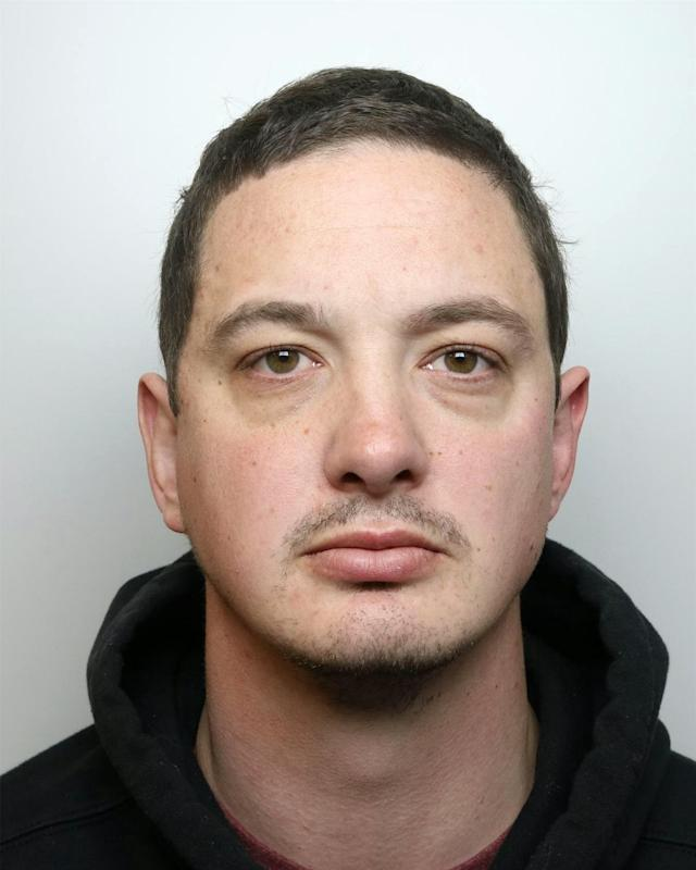 "Daniel Glassey, once dubbed ""Cheshire's Constable of the Year"", was jailed for 27 months for harassing and threatening to rape two ex-girlfriends whose lives he ""made a living hell"" (SWNS)"