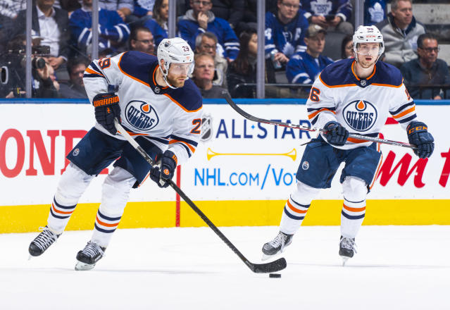 Leon Draisaitl officially emerged as an elite line-driver this season. (Getty)