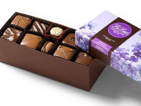 """<p>li-lacchocolates.com</p><p><strong>$32.00</strong></p><p><a href=""""https://www.li-lacchocolates.com/Chocolate-Gift-Box-French-Assortment-8oz"""" rel=""""nofollow noopener"""" target=""""_blank"""" data-ylk=""""slk:Shop Now"""" class=""""link rapid-noclick-resp"""">Shop Now</a></p><p>Manhattan's oldest chocolate maker, Li-Lac is the perfect choice for anyone craving a taste of classic NYC. The French assortment is one of their signature boxes, inspired by European chocolates from the 1920s, when the chocolatier was founded. </p>"""