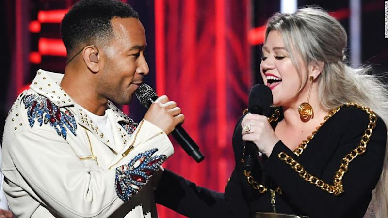 Hear John Legend and Kelly Clarkson's retooled 'Baby It's Cold Outside'