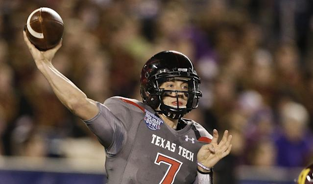 Texas Tech QB Davis Webb took his offensive line out for $275 worth of barbecue