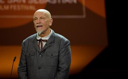 Malkovich returns to London stage as disgraced producer in Mamet play