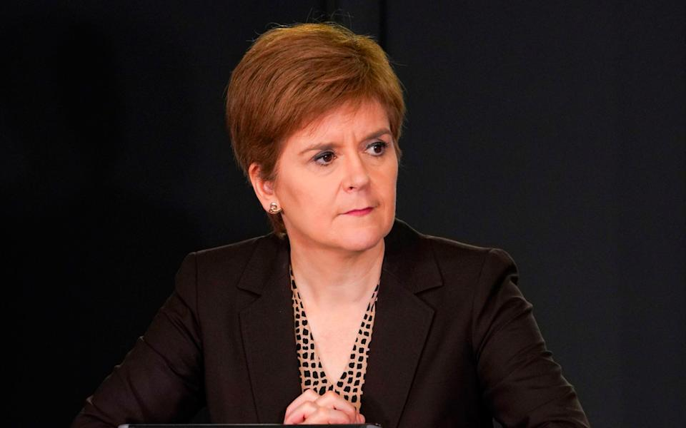 Nicola Sturgeon urged Margaret Ferrier to resign in a phone call on Friday - AFP