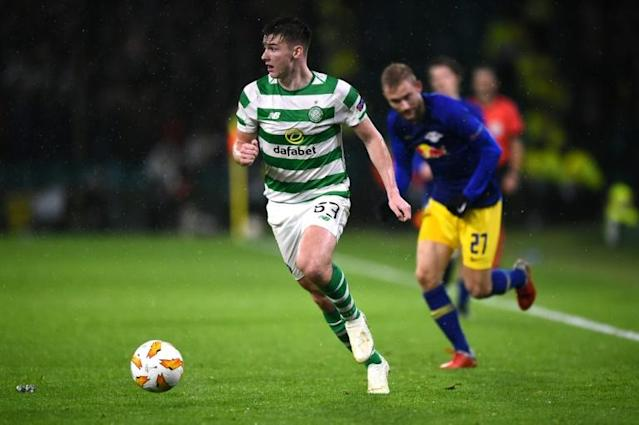 Celtic's squad has been weakened by the loss of Kieran Tierney to Arsenal (AFP Photo/ANDY BUCHANAN )