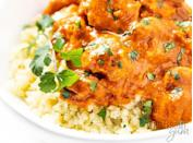 """<h2>37. Butter Chicken </h2> <p>Yes, it is just as delicious as it sounds.</p> <p><a class=""""link rapid-noclick-resp"""" href=""""https://www.wholesomeyum.com/butter-chicken-recipe/"""" rel=""""nofollow noopener"""" target=""""_blank"""" data-ylk=""""slk:Get the recipe"""">Get the recipe</a></p>"""