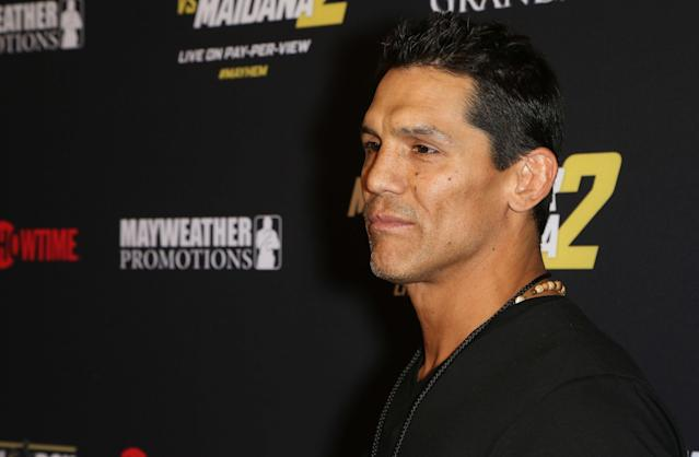 Frank Shamrock left a dog tied to a truck for five days. (Photo by Gabe Ginsberg/FilmMagic)