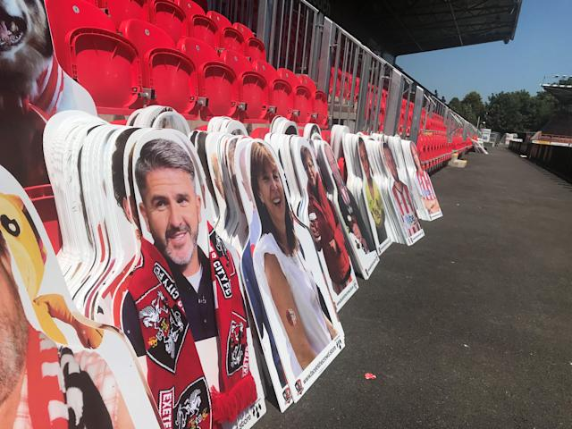 Exeter will be supported at Wembley by Plymouth boss Ryan Lowe (Exeter City FC)