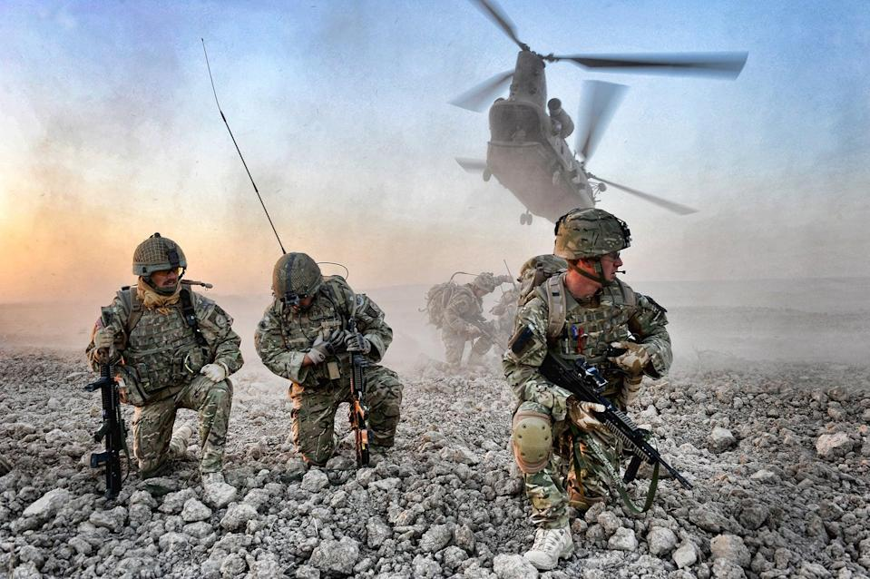British soldiers in Helmand province (PA Media)
