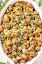 "<p>Sometimes you just don't mess with tradition, as this satisfying classic stuffing recipe proves.<br></p><p><strong>Get the recipe at <a href=""https://www.averiecooks.com/classic-traditional-thanksgiving-stuffing/#"" rel=""nofollow noopener"" target=""_blank"" data-ylk=""slk:Averie Cooks"" class=""link rapid-noclick-resp"">Averie Cooks</a>.</strong> </p>"