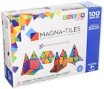 <p>Your twins can work together to build something amazing with this <span>Magna-Tiles Clear Colors 100-Piece Set</span> ($120)</p>