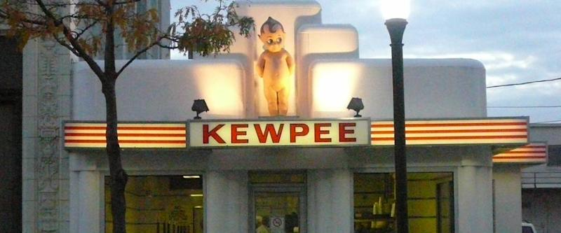 2008 photo of the Kewpee Restaurant in downtown Lima, Ohio.