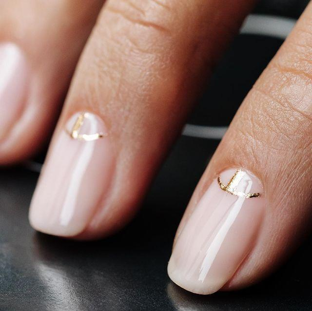 """<p>If you like your nail art on the minimal side and are London based you need to book an appointment at <a href=""""https://www.instagram.com/drybylondon/"""" rel=""""nofollow noopener"""" target=""""_blank"""" data-ylk=""""slk:DryBy London"""" class=""""link rapid-noclick-resp"""">DryBy London</a> asap.</p><p><a href=""""https://www.instagram.com/p/CPAWBE0DS-s/"""" rel=""""nofollow noopener"""" target=""""_blank"""" data-ylk=""""slk:See the original post on Instagram"""" class=""""link rapid-noclick-resp"""">See the original post on Instagram</a></p>"""