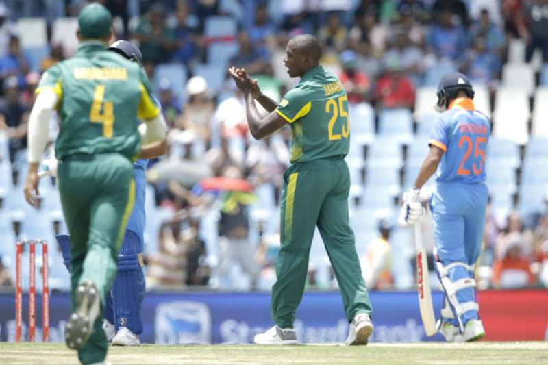 Kagiso Rabada Fined 15 Per Cent Match Fee for Dhawan 'Send-off'
