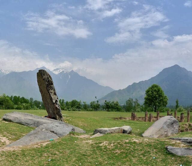 A picture from the site of the Burzahom Civilization, Kashmir