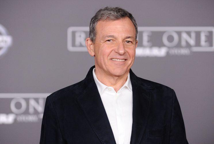 Bob Iger at the Rogue One premiere in Hollywood. (Photo: Jason LaVeris/FilmMagic)