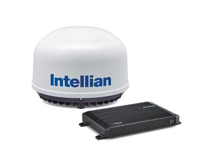 The new small-form-factor Intellian C700 L-band satellite terminal for maritime applications is powered by the Iridium Certus platform, and features 100% global coverage, the fastest L-band speeds available and cost-effective hardware and service plans.