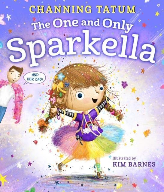 """""""The One and Only Sparkella,"""" by Channing Tatum; art by Kim Barnes."""