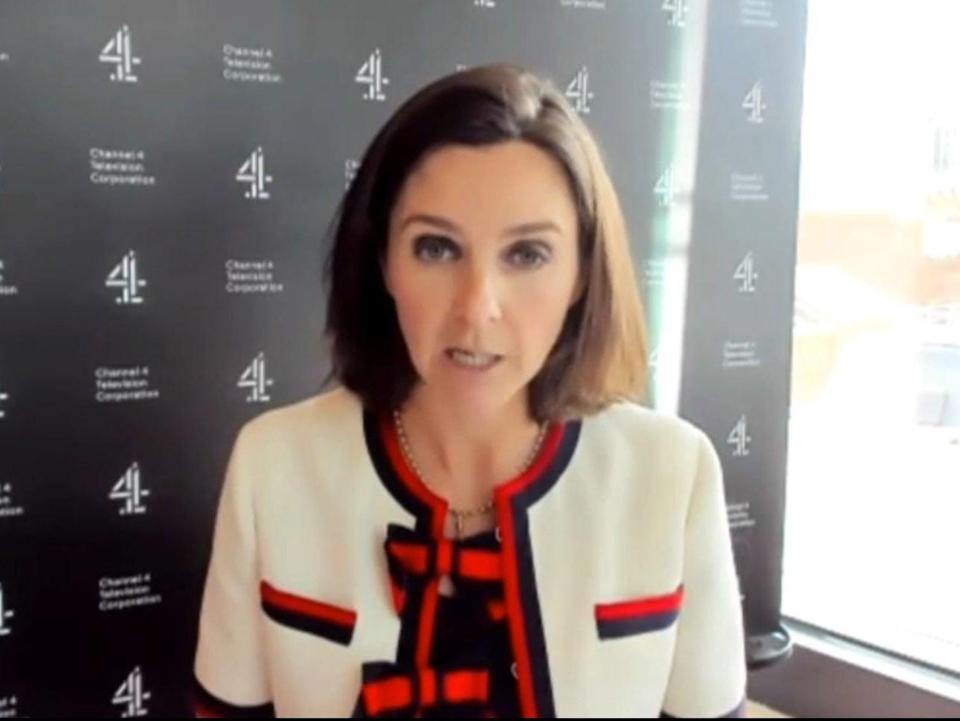 Channel 4 chief executive Alex Mahon giving evidence to MPs on the Digital, Culture, Media and Sport Committee on the subject of the work of Channel 4 (PA)