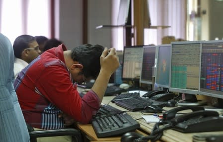 Nifty, Sensex see heavy selloff amid weak results, surcharge woes