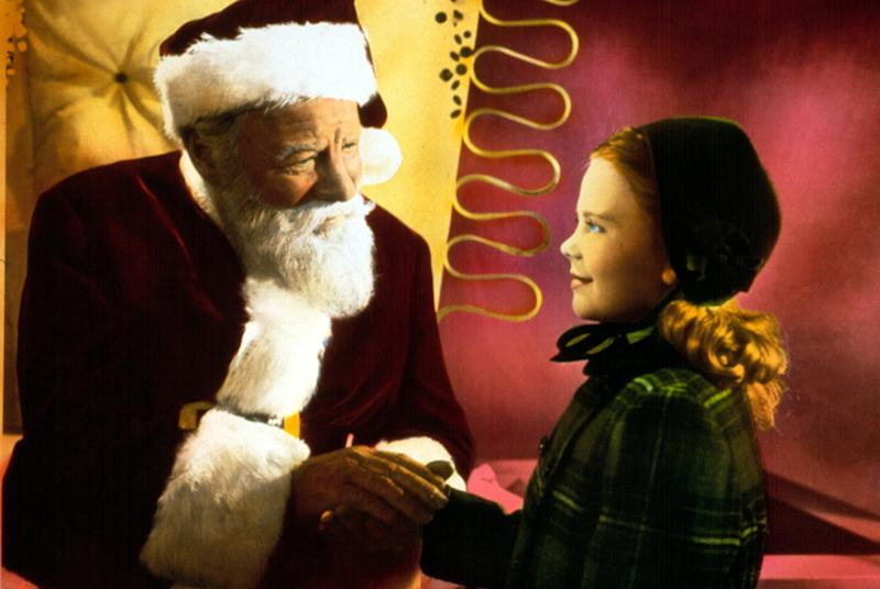 MIRACLE ON 34TH STREET, Edmund Gwenn, Natalie Wood, 1947, TM & Copyright (c) 20th Century Fox Film Corp. All rights reserved.