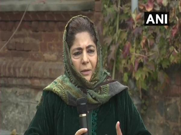 PDP leader Mehbooba Mufti (File Photo)