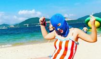 <p>The latest skin-protecting beauty trend [Photo: Instagram/cou_cou_lee] </p>