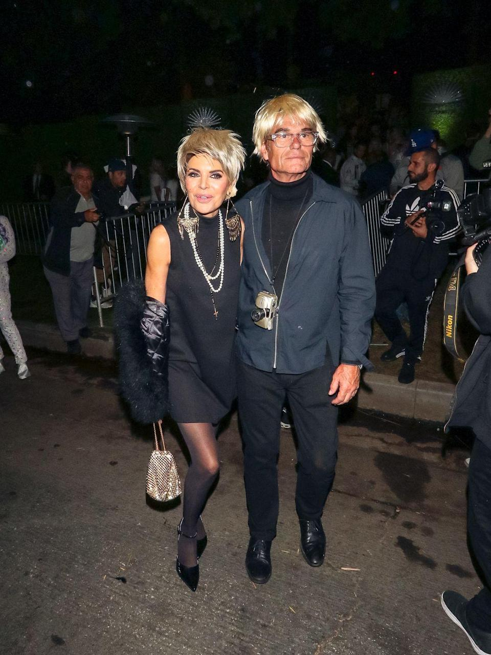 <p>Is Harry Hamlin trying to tell us Lisa Rinna is his muse? We think so.</p>