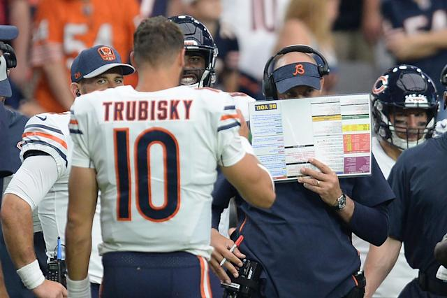 <p>Matt Nagy spent a decade coaching under Andy Reid, but that doesn't automatically guarantee him the same kind of post-off-week success enjoyed by his former mentor. </p>