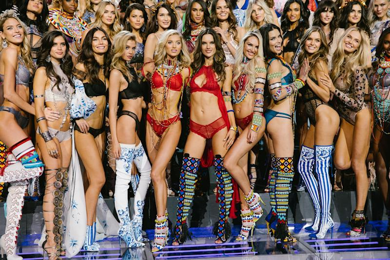 "da979926f757f ""We're Nobody's Third Love, We're Their First Love""—The Architects of the Victoria's  Secret Fashion Show Are Still Banking on Bombshells"